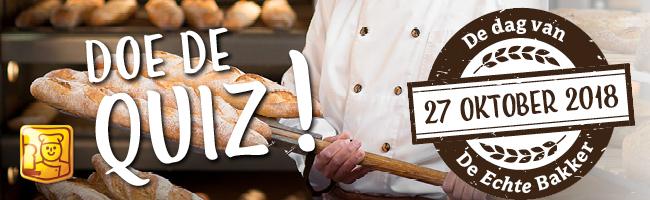 De Echte Bakker Quiz Bakkerij Schepers Sleen