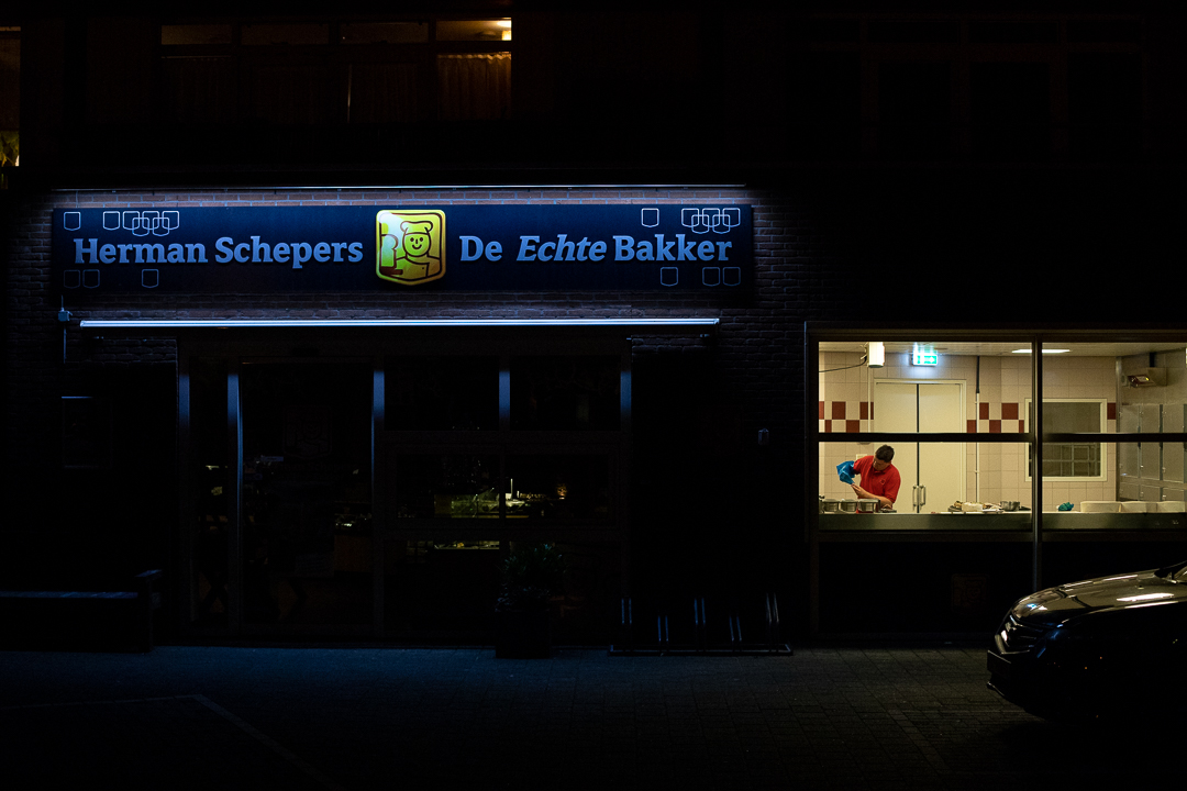 Bakkerij by night