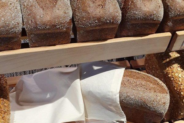 Vanaf nu: katoenen broodzakken te verkrijgen