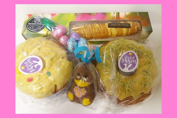 Paasproducten en paaspakketten