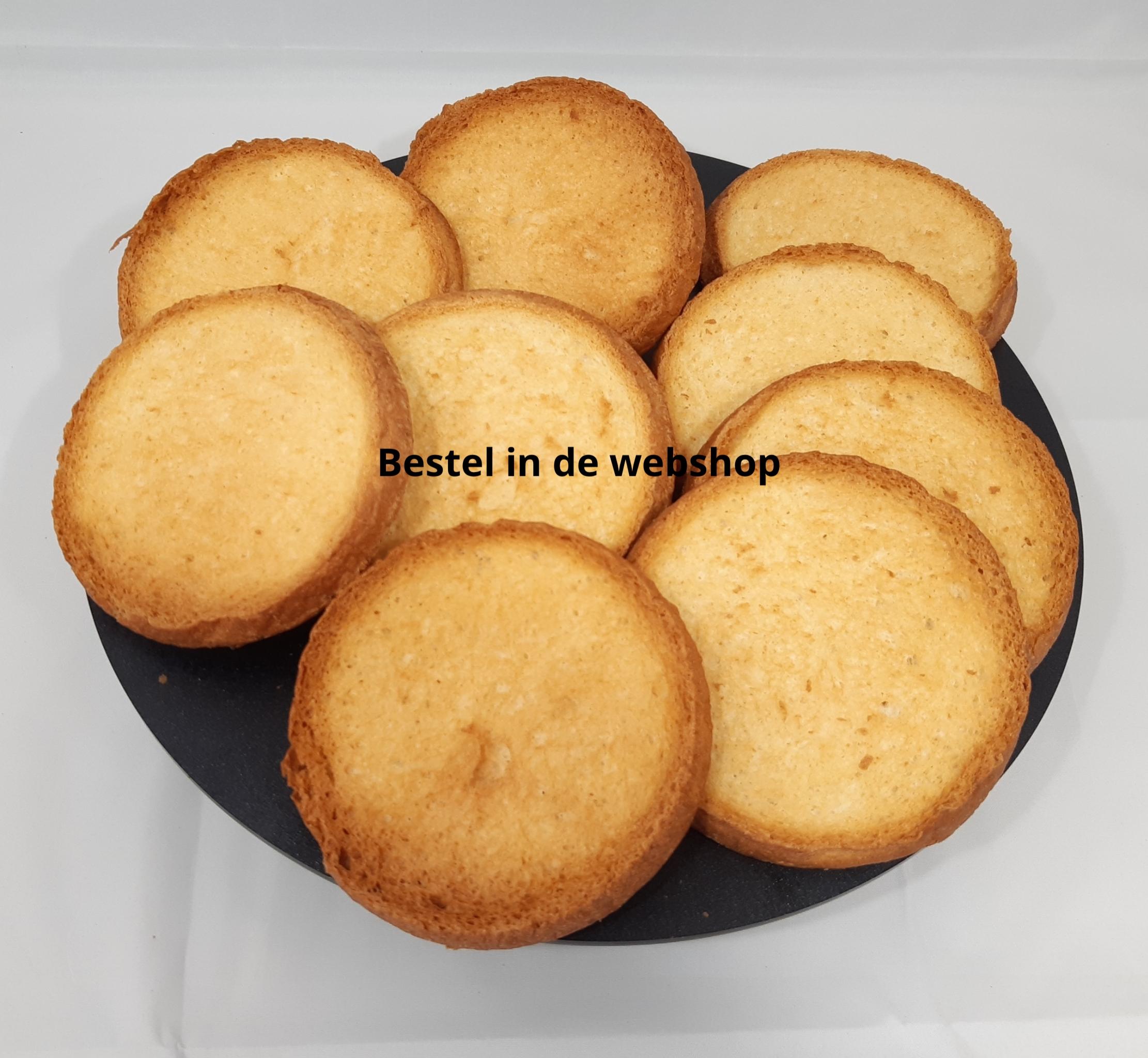 Beschuit uit eigen bakkerij te bestellen in de webshop