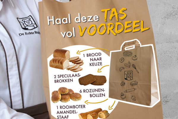 Een tas vol voordeel!